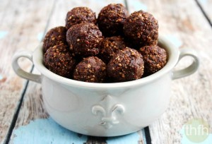 Pecan Cranberry Truffles   The Healthy Family and Home