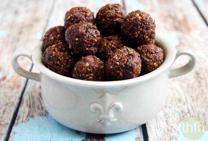 Pecan Cranberry Truffles | The Healthy Family and Home