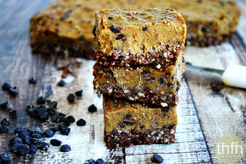 Clean Eating Chocolate Chip and Sweet Potato Bars | The Healthy Family and Home