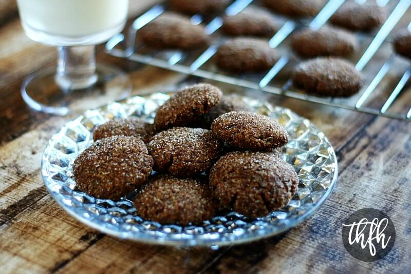 Clean Eating Gluten-Free Vegan Gingerbread Cookies   The Healthy Family and Home