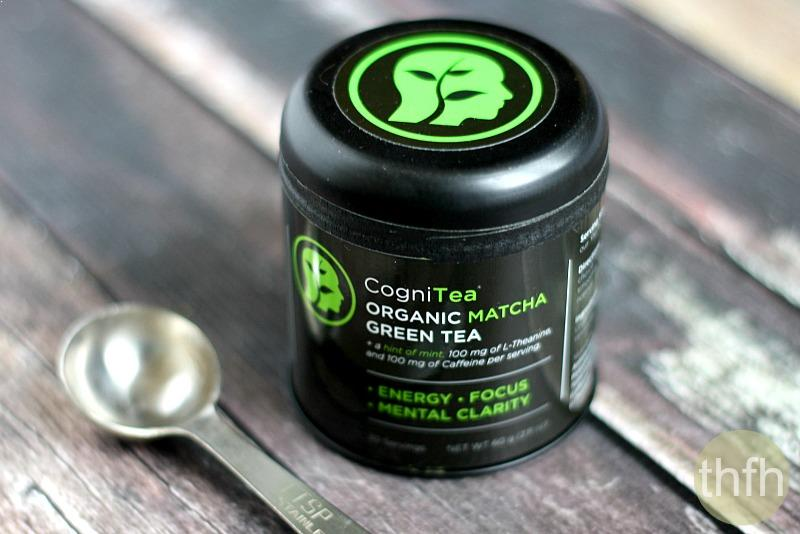 CogniTea Organic Matcha Green Tea | The Healthy Family and Home
