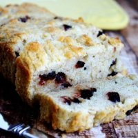 Gluten-Free Vegan Cranberry Orange Bread | The Healthy Family and Home