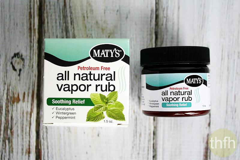 Maty's Petroleum-Free All Natural Vapor Rub | The Healthy Family and Home