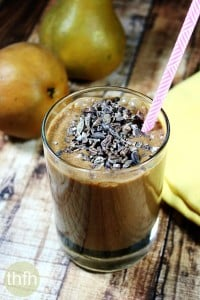 Cacao and Pear Protein Smoothie