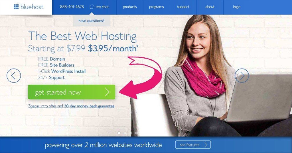 How To Start A Blog with Blue Host | The Healthy Family and Home