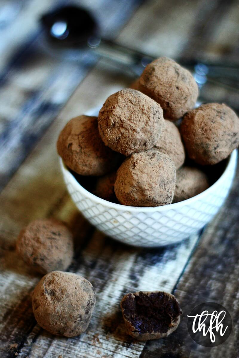 Gluten-Free Vegan Chocolate Fudge Truffles   The Healthy Family and Home
