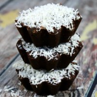 Vegan Coconut and Mango Chocolate Cups   The Healthy Family and Home