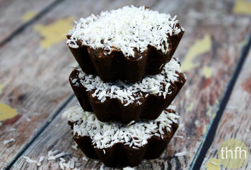 Vegan Coconut and Mango Chocolate Cups | The Healthy Family and Home