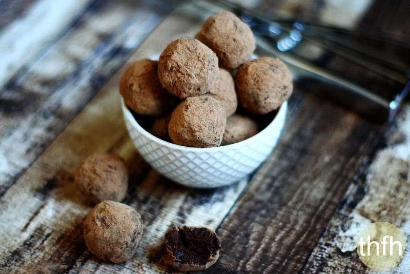Vegan Chocolate Fudge Truffles | The Healthy Family and Home