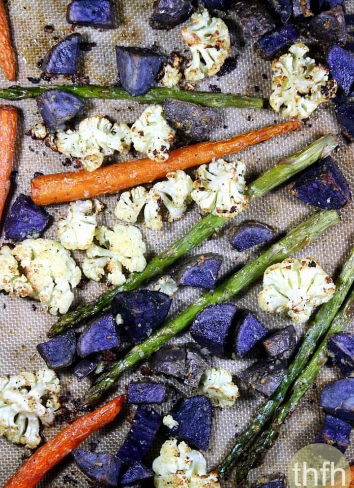 Clean Eating Roasted Vegetable Medley