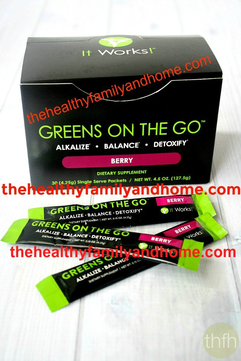 Greens On The Go Review | The Healthy Family and Home