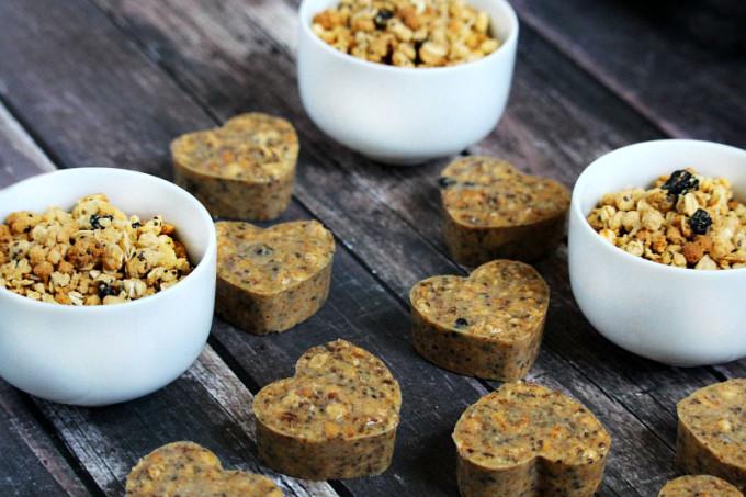 Mamma Chia Wild Blueberry Clusters Energy Bites (Vegan, Gluten-Free, Dairy-Free, No-Bake, No Refined Sugar)