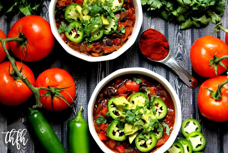 Vegan Smoked Paprika and Black Bean Chili | The Healthy Family and Home