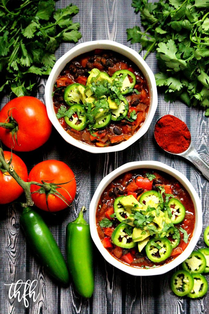 Vegan Smoked Paprika and Black Bean Chili