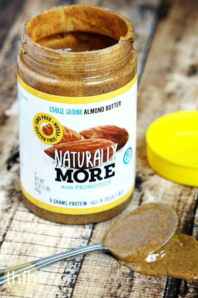 Chocolate Almond Butter Cups with Naturally More Probiotic Almond Butter | The Healthy Family and Home