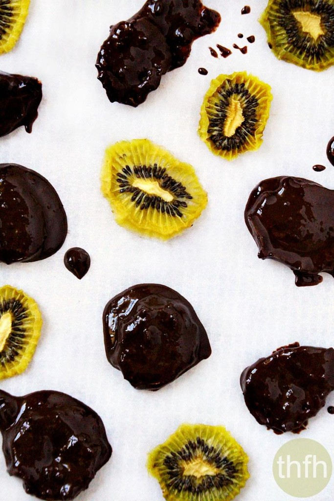 Chocolate Covered Dehydrated Kiwi