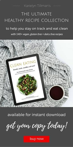 "Clean Eating Cookbook by Karielyn Tillman of ""The Healthy Family and Home"" website"