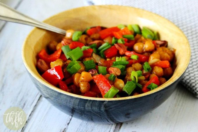 Vegan Kung Pao Chickpea Stir-Fry (Vegan, Gluten-Free, Dairy-Free)