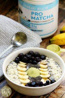 Pro Matcha Banana Avocado Smoothie Bowl   The Healthy Family and Home