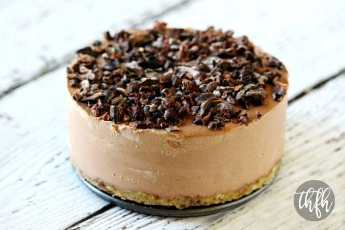 Raw Vegan Chocolate Banana Cheesecake (Raw, Vegan, Gluten-Free, Dairy-Free, Soy-Free, Egg-Free, Paleo-Friendly, No Refined Sugar)