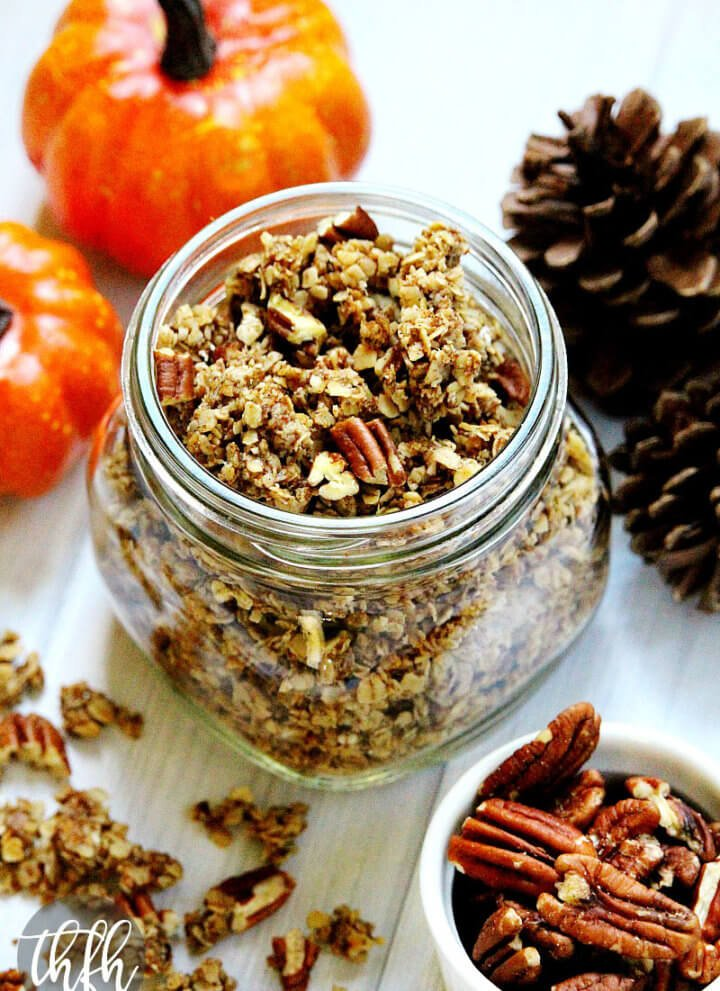 Pumpkin Spice and Pecan Granola