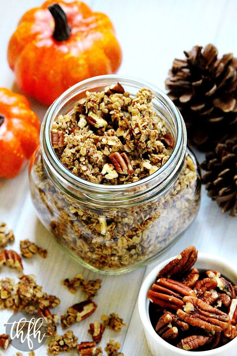 Pumpkin Spice and Pecan Granola | The Healthy Family and Home