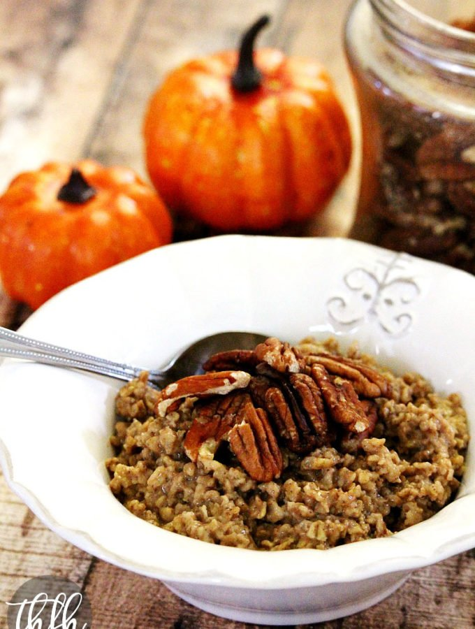 Vegan Pumpkin Spice Granola | The Healthy Family and Home