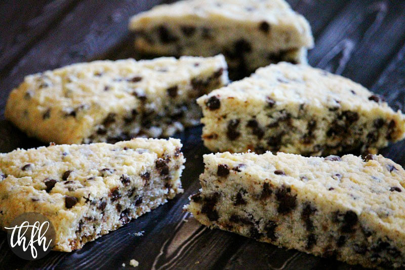 Vegan Gluten-Free Chocolate Chip Scones | The Healthy Family and Home