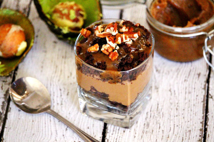 Gluten-Free Vegan Chocolate Pudding and Brownie Parfait (Vegan, Gluten-Free, Dairy-Free, Egg-Free, Soy-Free, No Refined Sugar)