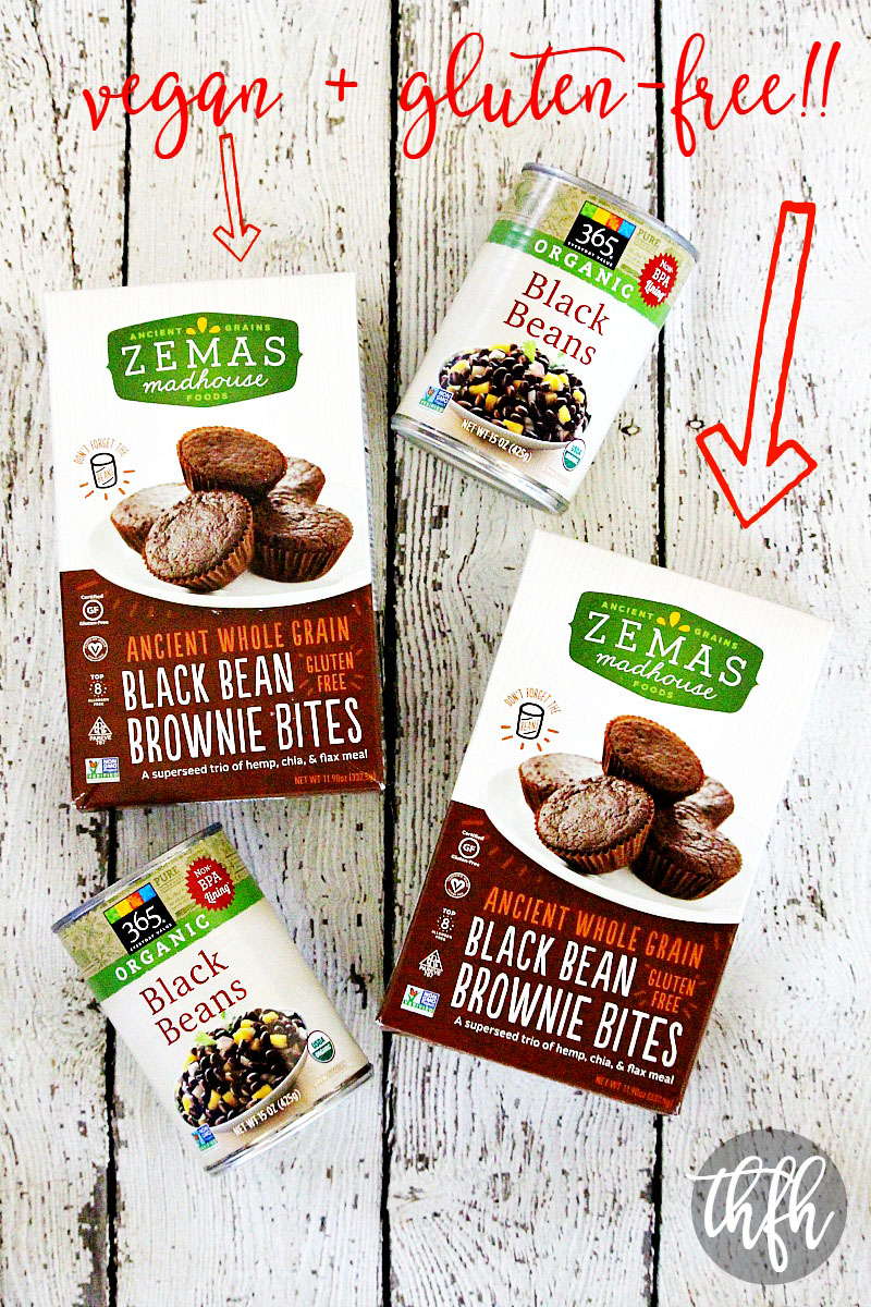 Zemas Madhouse Foods Black Bean Brownie Bites Baking Mix | The Healthy Family and Home