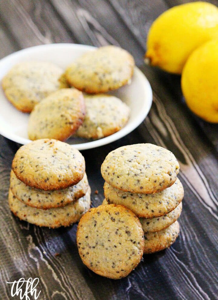 Gluten-Free Vegan Lemon Chia Seed Cookies | The Healthy Family and Home