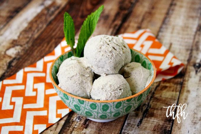 Gluten-Free Vegan Vanilla Bean Ice Cream | The Healthy Family and Home