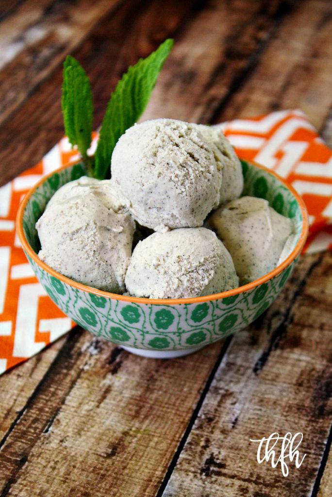 Gluten-Free Vegan Vanilla Bean Ice Cream