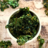 Vegan Baked Cheesy Kale Chips   The Healthy Family and Home