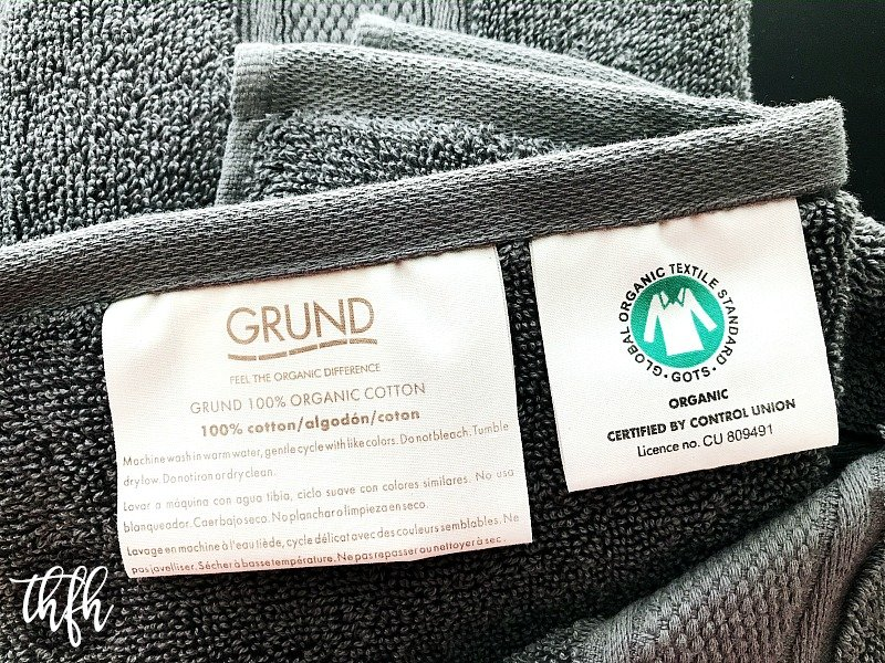 Grund America Organic Cotton Bath Towels Review + Giveaway | The Healthy Family and Home