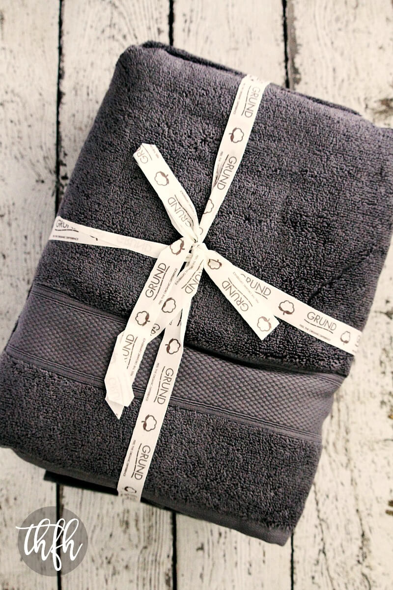 Grund America Organic Cotton Bath Towels | The Healthy Family and Home