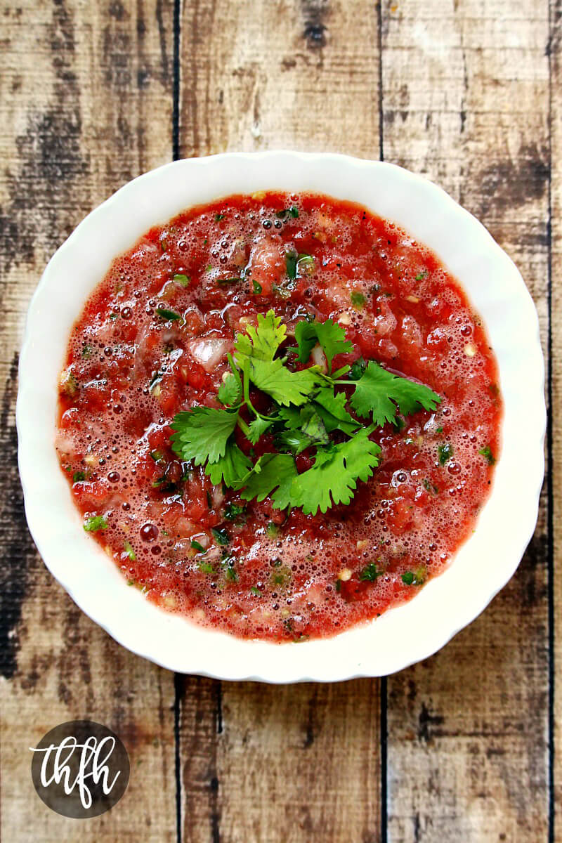 Spicy Watermelon Salsa | The Healthy Family and Home