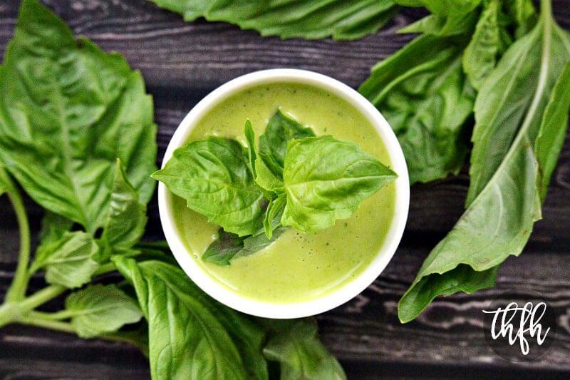 Gluten-Free Vegan Fresh Basil Vinaigrette | The Healthy Family and Home
