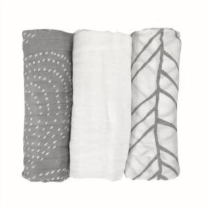 LIFESTYLE BAMBOO Bamboo Muslin Swaddle Blankets | The Healthy Family and Home