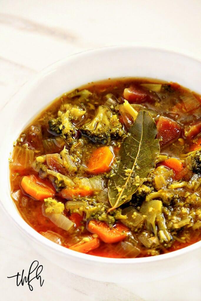 vegetable soup for liver reduction diet