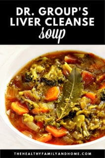 Dr  Group's Liver Cleanse Soup