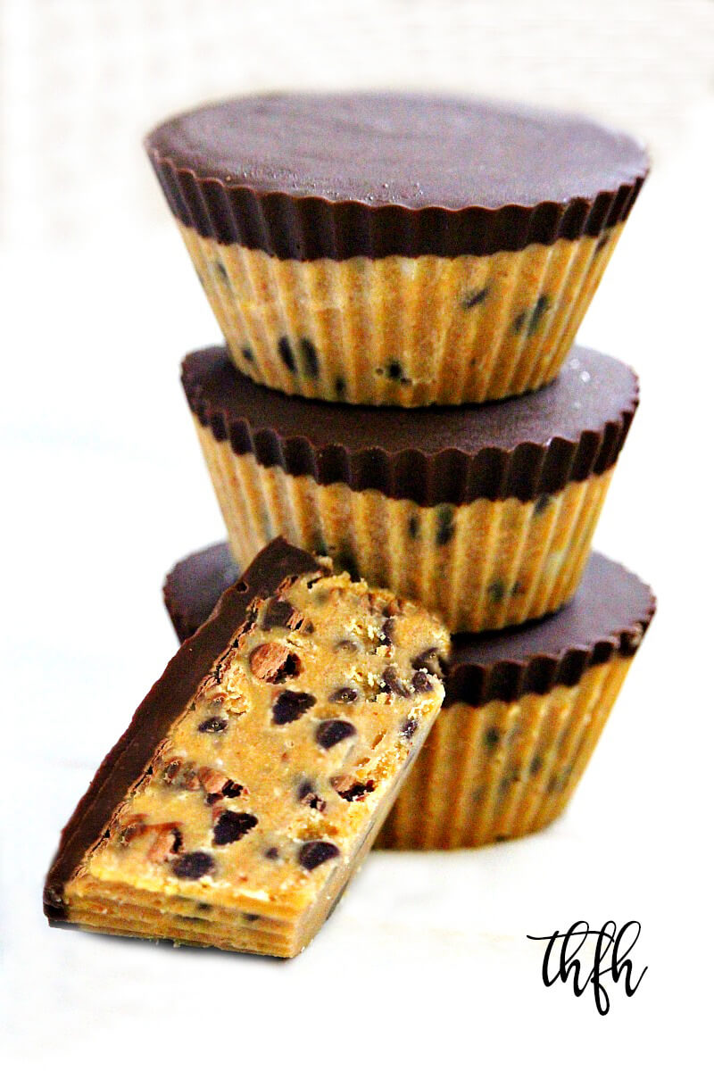 Gluten-Free Vegan Chocolate Chip Peanut Butter Cups | The Healthy Family and Home
