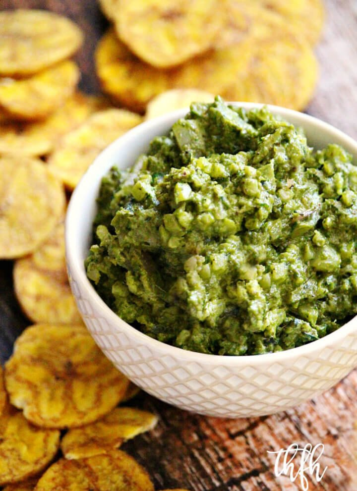 Lectin-Free Vegan Basil and Cauliflower Rice Dip | The Healthy Family and Home