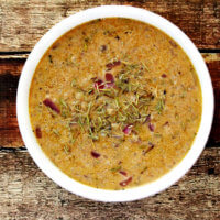 Lectin-Free Vegan Pumpkin Spice Cauliflower Rice Soup   The Healthy Family and Home