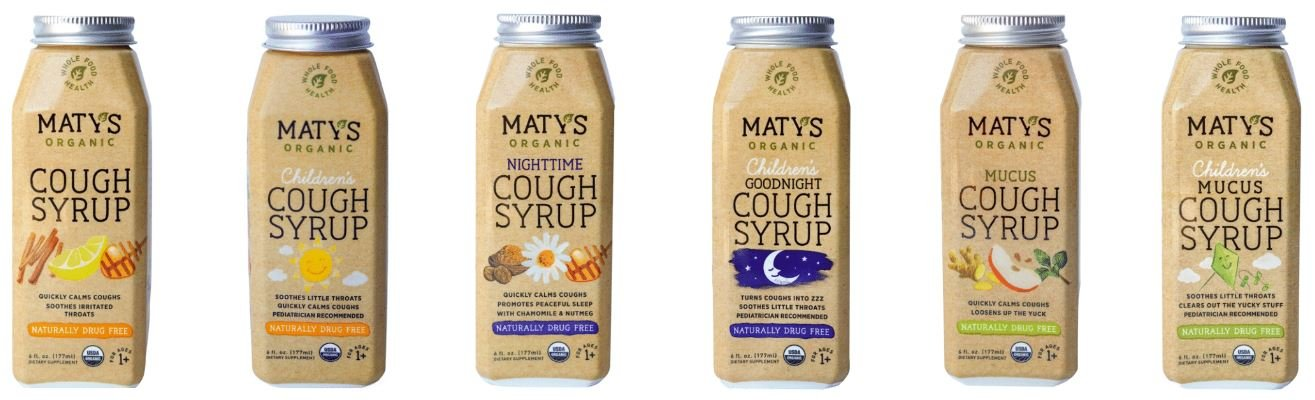 Maty's Organic Cough Syrup | The Healthy Family and Home