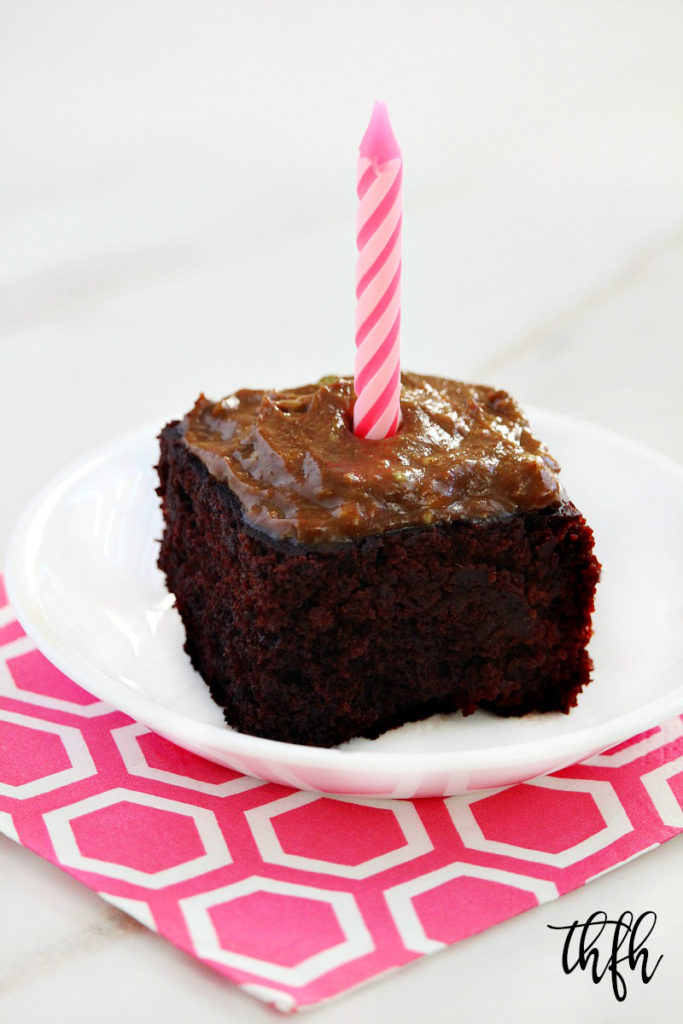 Gluten-Free Vegan Avocado Oil Chocolate Cake