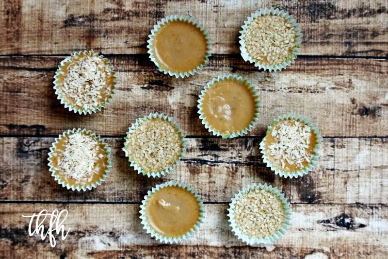 Gluten-Free Vegan Cashew Butter Fudge Cups | The Healthy Family and Home