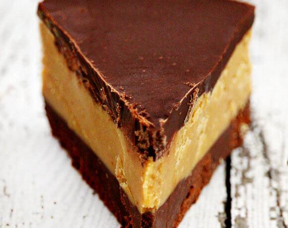 Gluten-Free Vegan No-Bake Peanut Butter Cup Pie