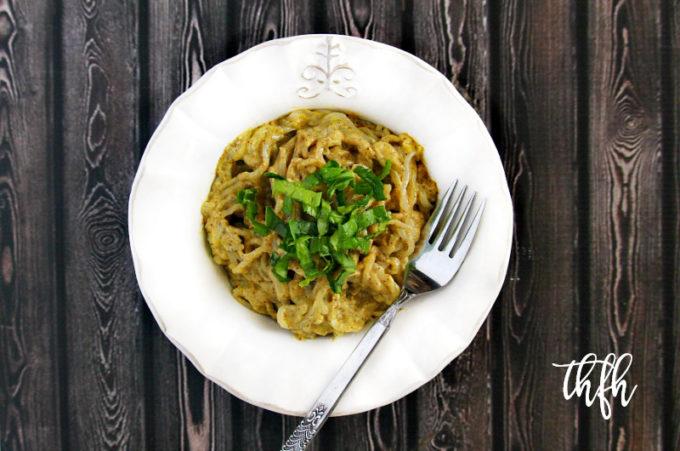 Lectin-Free Vegan Shirataki Angel Hair Pasta with Creamy Chipotle Avocado Sauce   The Healthy Family and Home