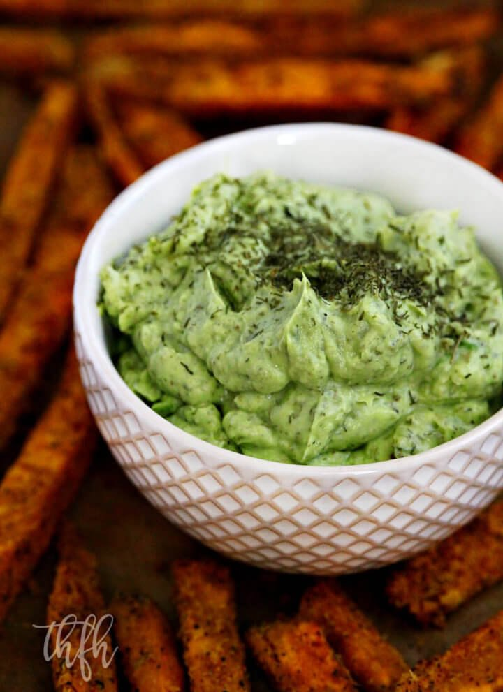 Lectin-Free Vegan Lemon Dill Avocado Dressing | The Healthy Family and Home